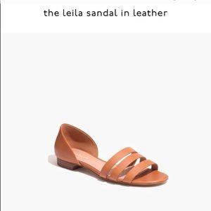 Madewell the Lelia leather sandal 6.5